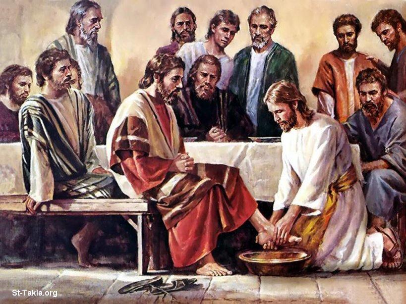 Jesus vasker føtter