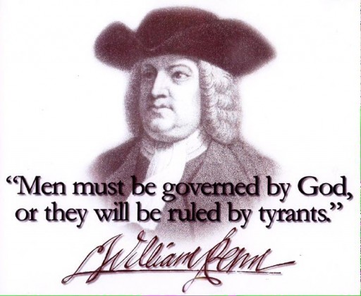 Menneskene må bli styrt av Gud, eller de vil bli hersket over av tyranner.
