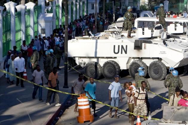 FN 'Peacekeepers' - Krig er Fred, og Fred er Krig.
