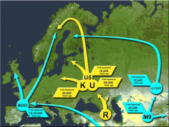 Khazarene erobrer Europa og USA