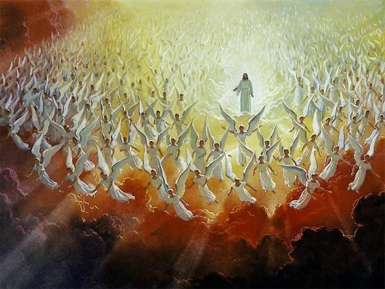 Jesus kommer 'i skyene' sammen med alle de som disse krefter har drept...