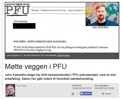 Mentalt forstyrrede Øyvind Bergh med blankofullmakt til å gå bananas på Fri Tanke