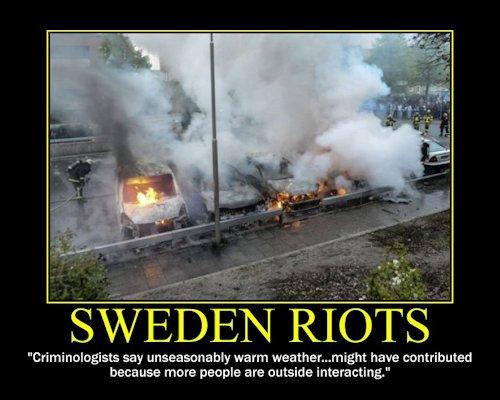 Sweden-Riots