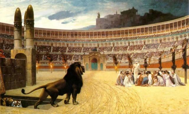 Jesus har blitt kapret av den fundamentalistiske høyreside og tiden er inne for å frigjøre ham. Her ser vi de kristne martyrers siste bønn.