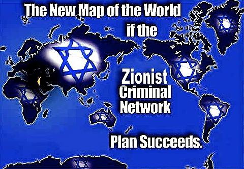 Zionist Criminal Map