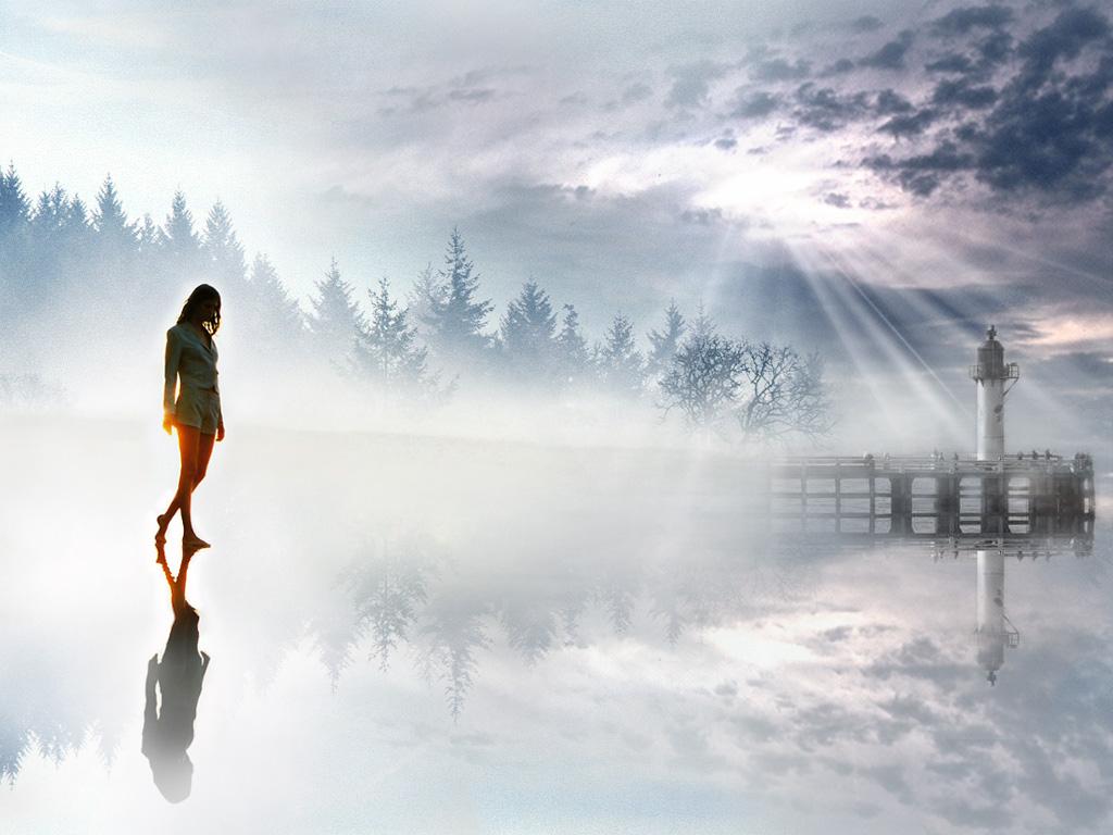 Å vandre mot lyset er å stadig søke kunnskap og opplysning. Det er det eneste som kan transformere mørket i en.