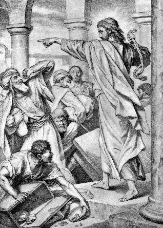 Kristus jager pengevekslerne II