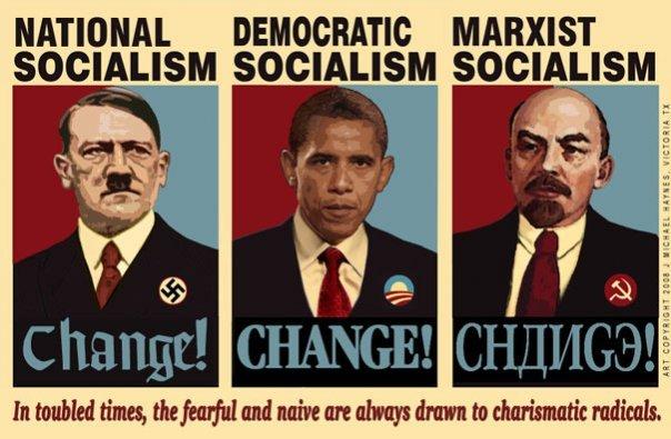 Hitler og Obama – to alen av samme stykke