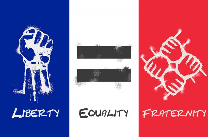 Frimurernes Menneskerettigheter for 'Frihet, Likhet og Brorskap' (?)