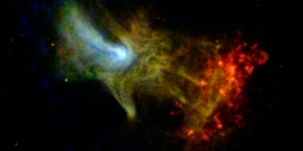 'Hand of God' spotted by NASA space telescope