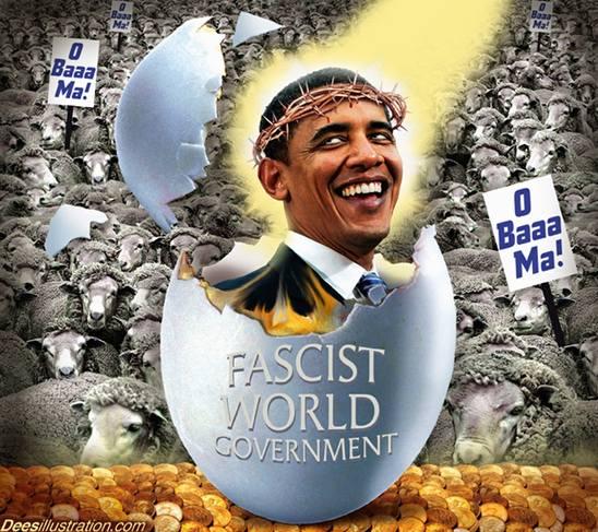 Obama; En 'frelser' er oss skapt
