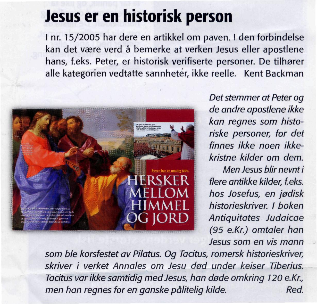 Jesus er en historisk person