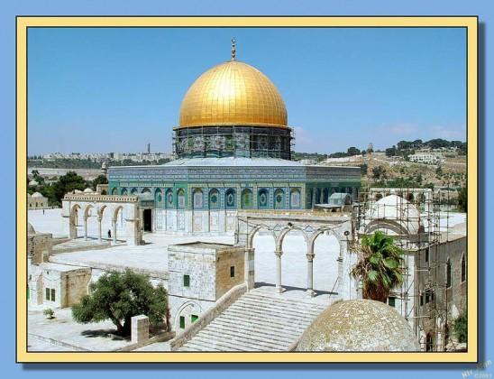 Så snart kristne og muslimer er 'nøytralisert' i Det Hellige Land kan 'noen' herske over verden fra sin trone på det gjenoppbygde Salomons Tempel i Rothschilds Nye Jerusalem.