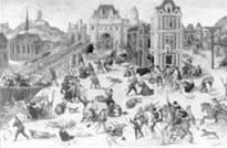24. august 1572 organiserte Jesuittordenen Bartholomeusnatten for den katolske kirke.