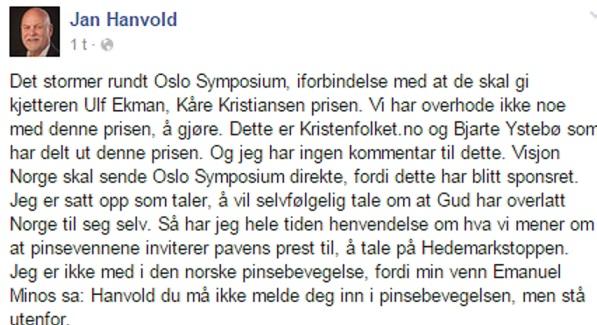 Skandinaviske pinsemenigheter i luciferisk ekumenisme