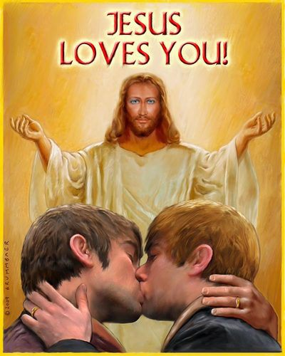 Satanic demonpossesed 'christianity'  poster