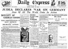 Judea Erklærer Krig Mot Tyskland (Klikk på bildet for stor størrelse).