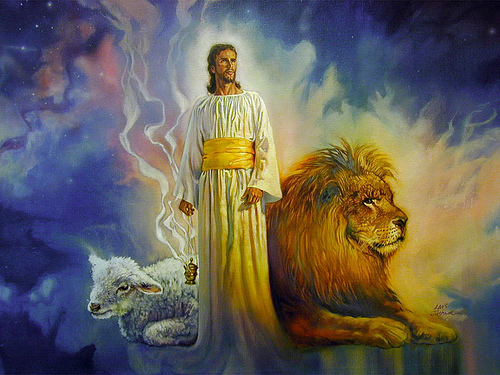 Lion is Judah, the Lamb is Israel, united in Jerusalem