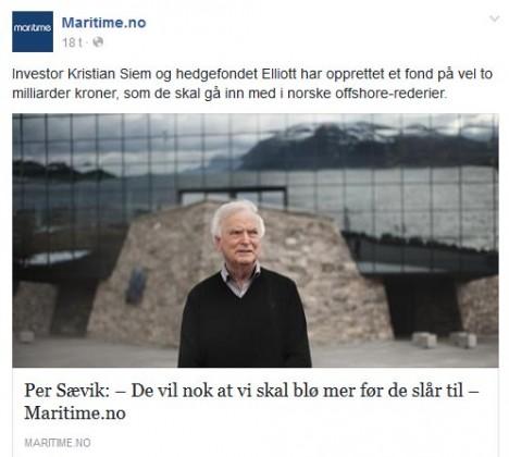 Faksimile fra Maritim.no