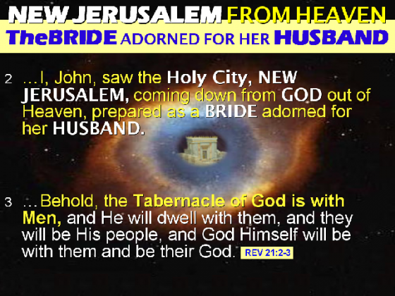 Two times God have given Israel their New Jerusalem. Two times the Synagogue of satan have stolen it from them by lies and deceit.