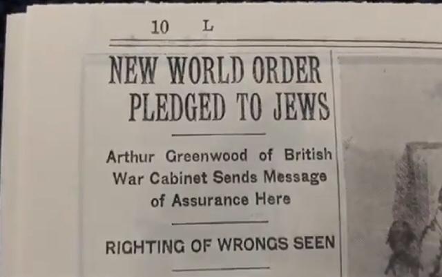 Jødisk Ny Verdensorden