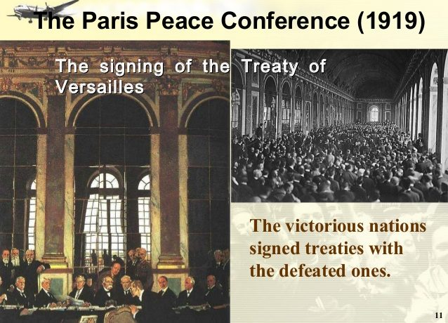 Beware of Paris Peace Conference; 15th of January