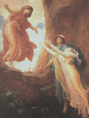 Persephone Enters The Underworld