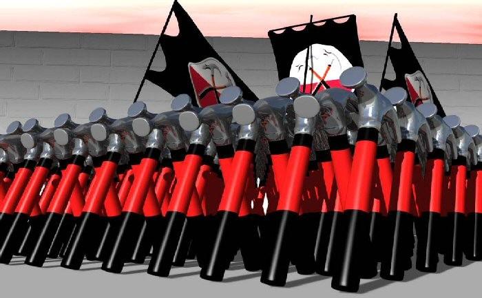 Morsomme kloner av Jens Stoltenberg og Hitler