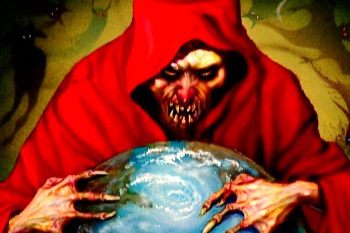 'Satan' har denne verden i sin hule hånd.