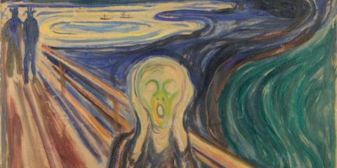 Skrik, av Edvard Munck