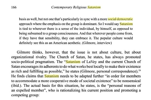 Social Democratic Satanism