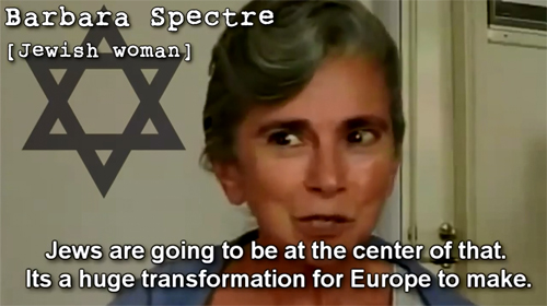 Barbara Spectre, Swedish jew.