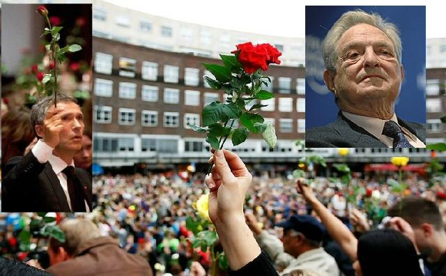22/7 – Soros Roserevolusjon i Oslo