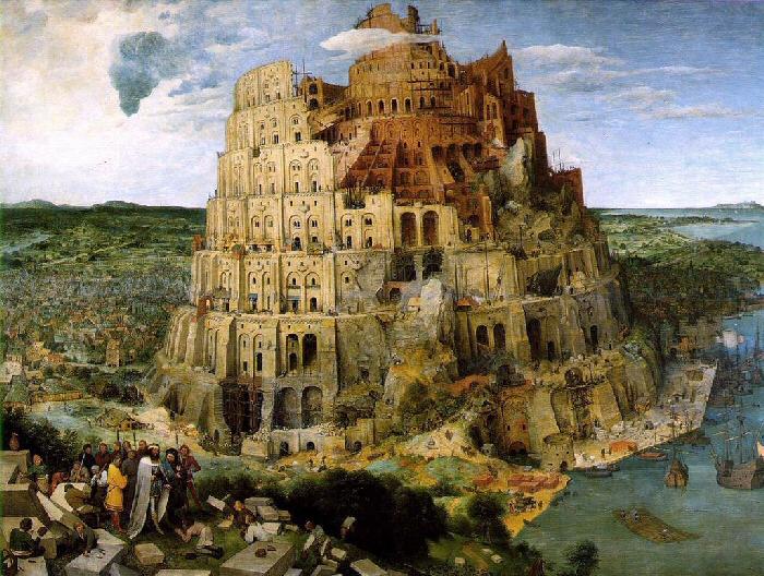 Babels Tårn fra det fallerte Baylons Rike