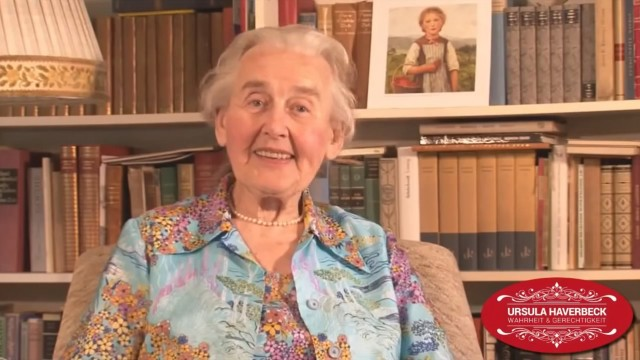Ursula Haverbeck about «The Greatest Problem of Our Time» ; Holocaust lies