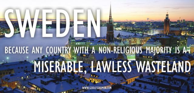 Sveriges frafall fra nåden og endelige dom
